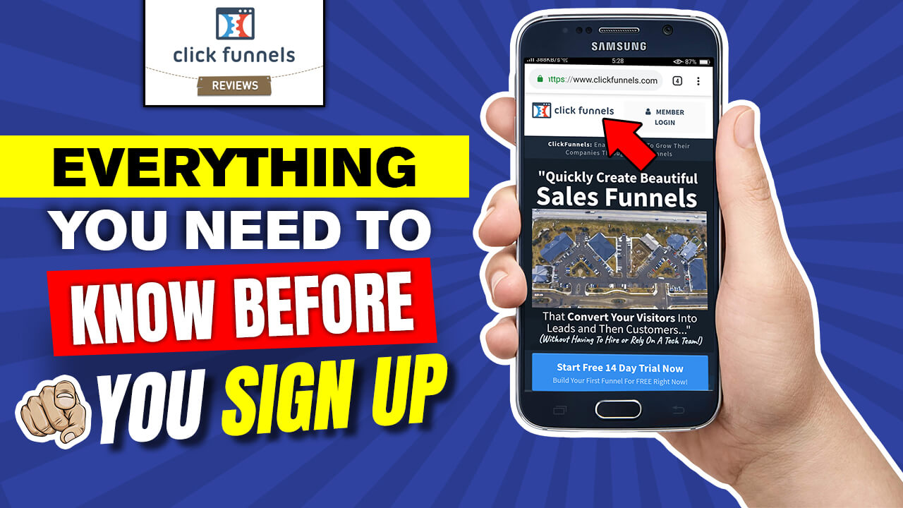 Clickfunnels How To Auto Scroll Header Link Click